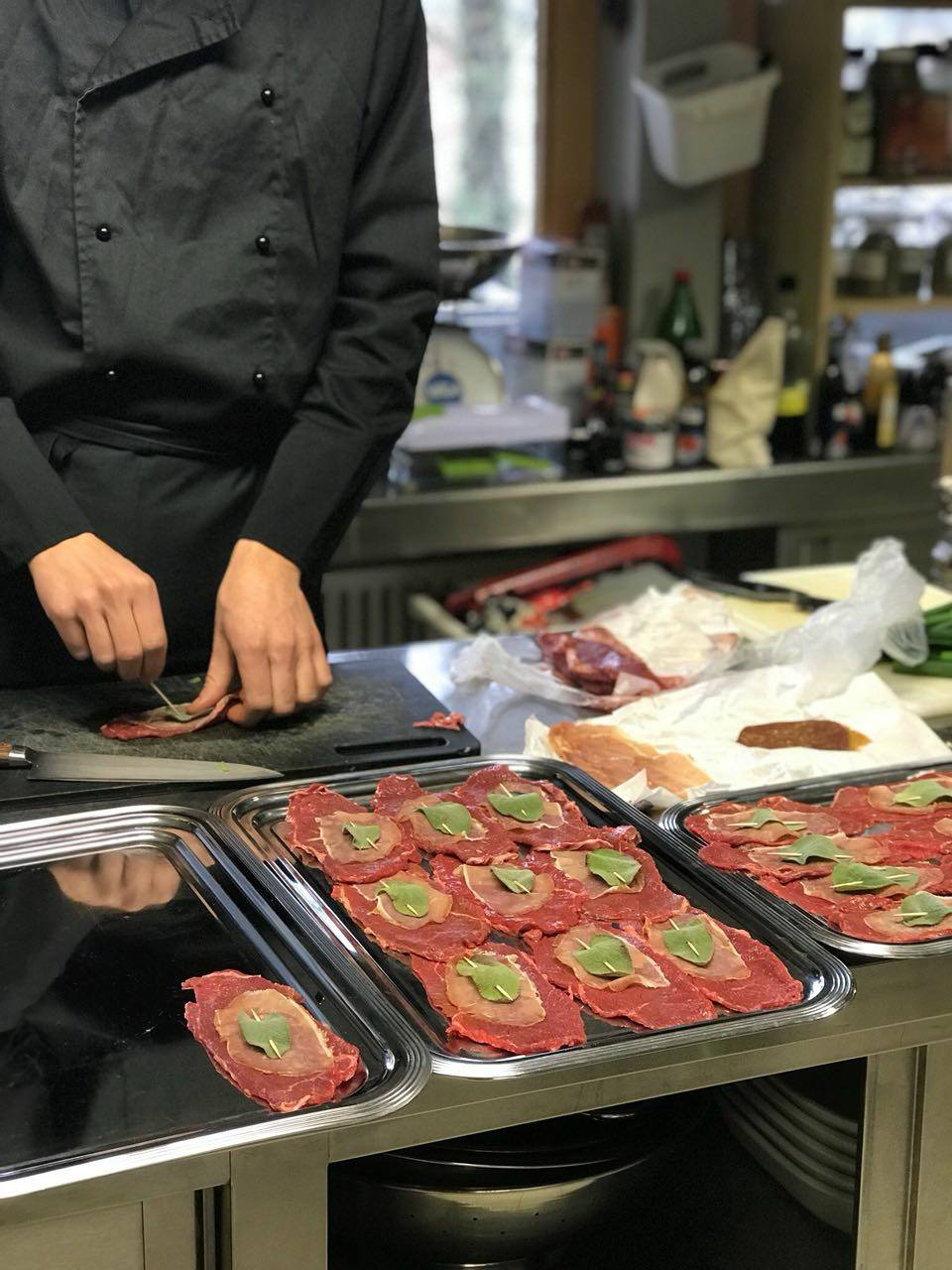 Küche Gala Dinner