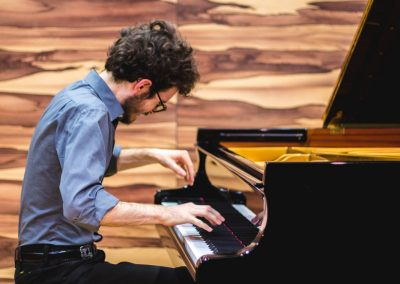 Joshua Rupley Virtuoso piano playing Rachmaninoff Corelli Variations