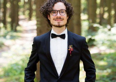 Joshua Rupley Headshot Portrait Forest